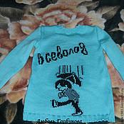 Работы для детей, ручной работы. Ярмарка Мастеров - ручная работа именные свитера для малышей. Handmade.
