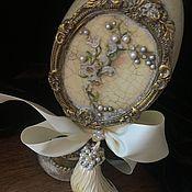 Подарки ручной работы. Ярмарка Мастеров - ручная работа «Ландыши» Пасхальное интерьерное яйцо. Handmade.