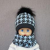 Аксессуары handmade. Livemaster - original item Hat made of wool blend