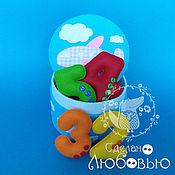 Куклы и игрушки handmade. Livemaster - original item Figures made of felt in the box