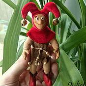 """Куклы и игрушки ручной работы. Ярмарка Мастеров - ручная работа Маленький шут """"Карлуша"""". Handmade."""