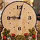 """Часы для дома ручной работы. Ярмарка Мастеров - ручная работа. Купить Часы настенные """"Земляника"""". Handmade. Природа, ягоды"""