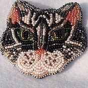 Украшения ручной работы. Ярмарка Мастеров - ручная работа котик. Handmade.