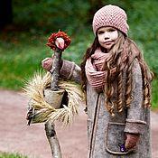 Одежда ручной работы. Ярмарка Мастеров - ручная работа Курточка валяная детская. Handmade.