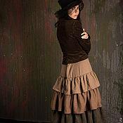 Одежда ручной работы. Ярмарка Мастеров - ручная работа Юбка Викторианство. Handmade.