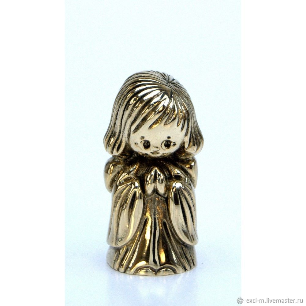 Статуэтка Ангел-девочка в платье, Мини фигурки и статуэтки, Москва,  Фото №1
