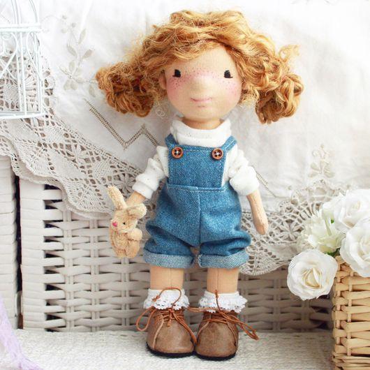 """Вальдорфская игрушка ручной работы. Ярмарка Мастеров - ручная работа. Купить Вальдорфская Кукла """"Картофелька"""". Handmade. Кукла ручной работы"""