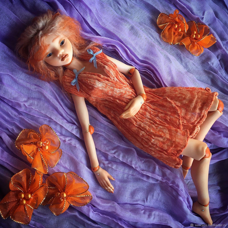 Tangerine Cat, Шарнирная кукла, Москва,  Фото №1