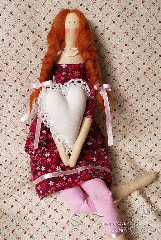 Куклы Тильды ручной работы. Ярмарка Мастеров - ручная работа. Купить Тильда Дария. Handmade. Кукла Тильда, украшение интерьера