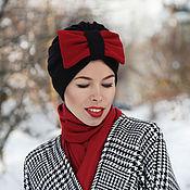 Аксессуары handmade. Livemaster - original item Turban with removable bow