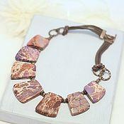 Necklace handmade. Livemaster - original item Necklace the Origin of life, variscite. Handmade.