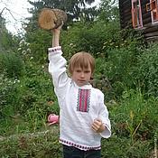 Работы для детей, ручной работы. Ярмарка Мастеров - ручная работа Рубаха для юного богатыря.. Handmade.