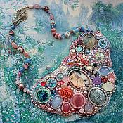 "Украшения handmade. Livemaster - original item Jewelry set ""Follow the White Rabbit"" - necklace, bracelet, earrings. Handmade."