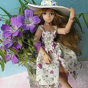 Шарнирная кукла ручной работы. Ярмарка Мастеров - ручная работа Агата шарнирная кукла. Handmade.