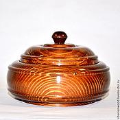 Для дома и интерьера handmade. Livemaster - original item The jug lid wooden Box made of Siberian pine #K19. Handmade.