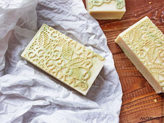 Мыло ручной работы. Ярмарка Мастеров - ручная работа. Купить Бергамот Натуральное молочное мыло с нуля с эфирным маслом. Handmade.