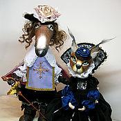 Куклы и игрушки ручной работы. Ярмарка Мастеров - ручная работа Атос и Миледи. Handmade.