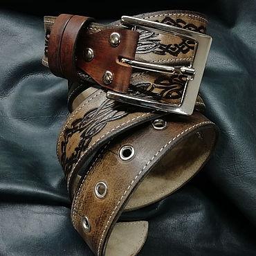 Accessories handmade. Livemaster - original item Classic belt 1.1.. Handmade.