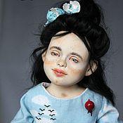 Куклы и пупсы ручной работы. Ярмарка Мастеров - ручная работа Либерти (англ. liberty - свобода), авторская коллекционная кукла.. Handmade.