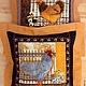 """Текстиль, ковры ручной работы. Ярмарка Мастеров - ручная работа. Купить Подушки """" На заре"""". Handmade. Кантри"""