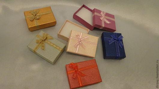 Упаковка ручной работы. Ярмарка Мастеров - ручная работа. Купить Подарочная упаковка 7х9х3  для брошей, кулонов, комплектов. Handmade. Упаковка