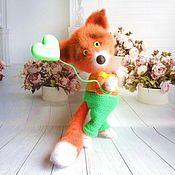 Куклы и игрушки handmade. Livemaster - original item Fox Fox. Handmade.