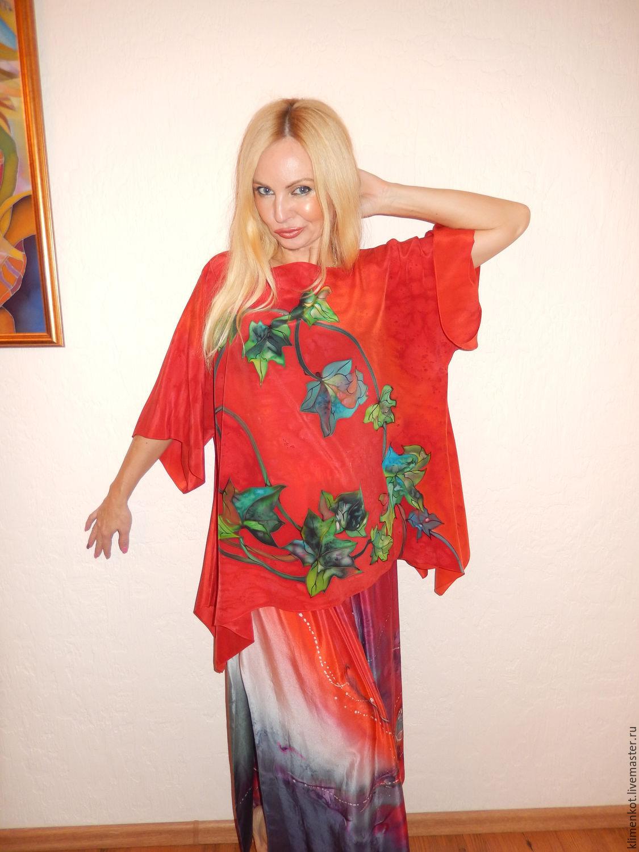 Блуза-трансформер- Любовь и круговорот, Одежда, Иваново, Фото №1