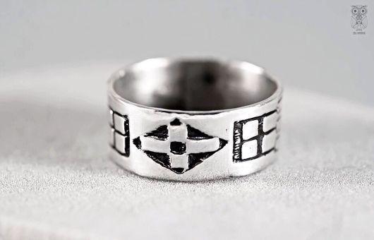Кольца ручной работы. Ярмарка Мастеров - ручная работа. Купить Серебряное кольцо SEGVON. Handmade. Кольцо, мужской подарок