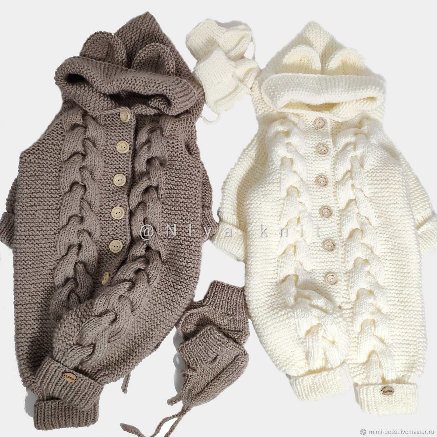 Knitted baby jumpsuit Teddy Bear, Jumpsuits, Kirov,  Фото №1