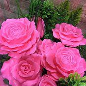Букеты ручной работы. Ярмарка Мастеров - ручная работа Букеты: букеты цветов из мыла ручной работы. Handmade.