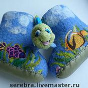 """Работы для детей, ручной работы. Ярмарка Мастеров - ручная работа детские тапочки пинетки """"Рыбки"""". Handmade."""