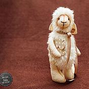 Куклы и игрушки ручной работы. Ярмарка Мастеров - ручная работа овечка Delis. Handmade.