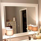 Для дома и интерьера handmade. Livemaster - original item Large mirror. Handmade.