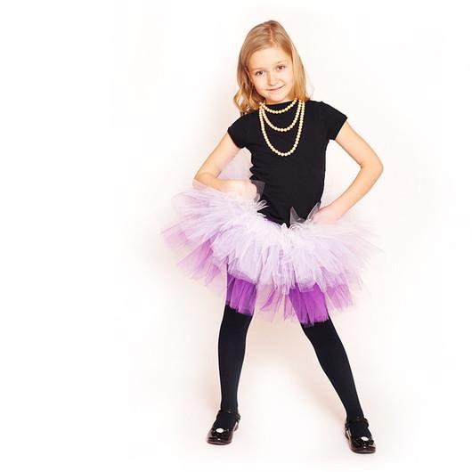 """Одежда для девочек, ручной работы. Ярмарка Мастеров - ручная работа. Купить """"Мечты Принцессы"""" фиолетовая юбка-пачка из фатина. Handmade."""