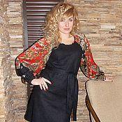 Одежда handmade. Livemaster - original item Dress felted Slavyanochka. Handmade.