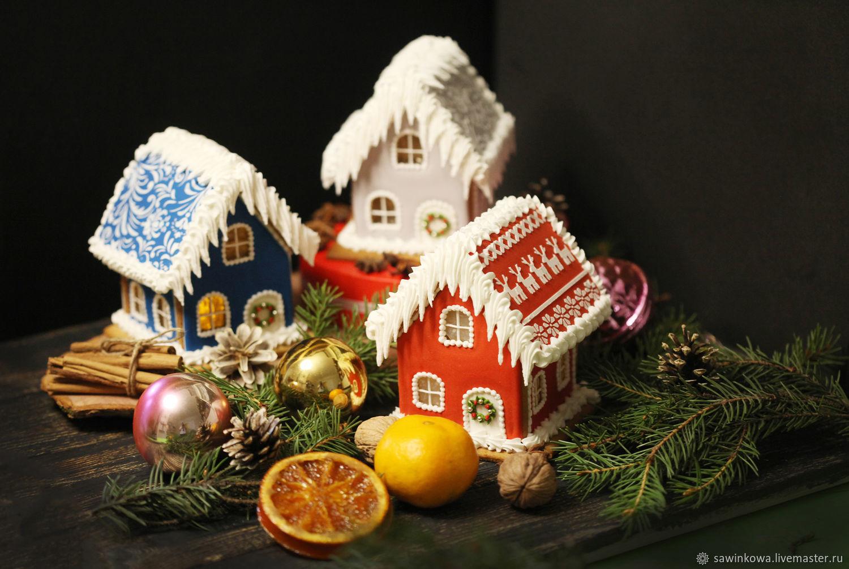 Пряничные домики малые, Кулинарные сувениры, Москва,  Фото №1