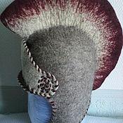 """Аксессуары ручной работы. Ярмарка Мастеров - ручная работа шапка для бани: """"Шлем гладиатора"""". Handmade."""