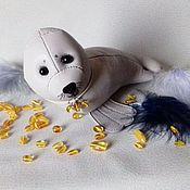 Куклы и игрушки ручной работы. Ярмарка Мастеров - ручная работа Тюлень из кожи. Handmade.