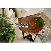 Столы ручной работы. Ярмарка Мастеров - ручная работа Кофейный столик из спила. Handmade.
