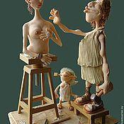 Портретная кукла: Пигмалион и Галатея