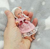 Куклы Reborn ручной работы. Ярмарка Мастеров - ручная работа Полностью силиконовая малышка 11 см. Handmade.