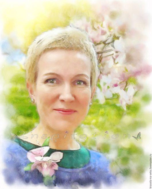 Портрет по фото (Рая).
