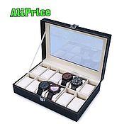 Для дома и интерьера handmade. Livemaster - original item Box for watches and bracelets, 12 pillows. Handmade.