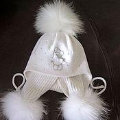 Работы для детей, ручной работы. Ярмарка Мастеров - ручная работа Мериносовый комплект для девочки ....зима.... Handmade.