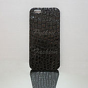 Сумки и аксессуары handmade. Livemaster - original item Case crocodile leather ICASE. Handmade.