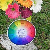 Материалы для творчества ручной работы. Ярмарка Мастеров - ручная работа Цветовой круг, малый. Handmade.