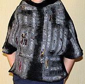 """Одежда ручной работы. Ярмарка Мастеров - ручная работа Валяный жилет-душегрея """"В пещере горного короля"""". Handmade."""