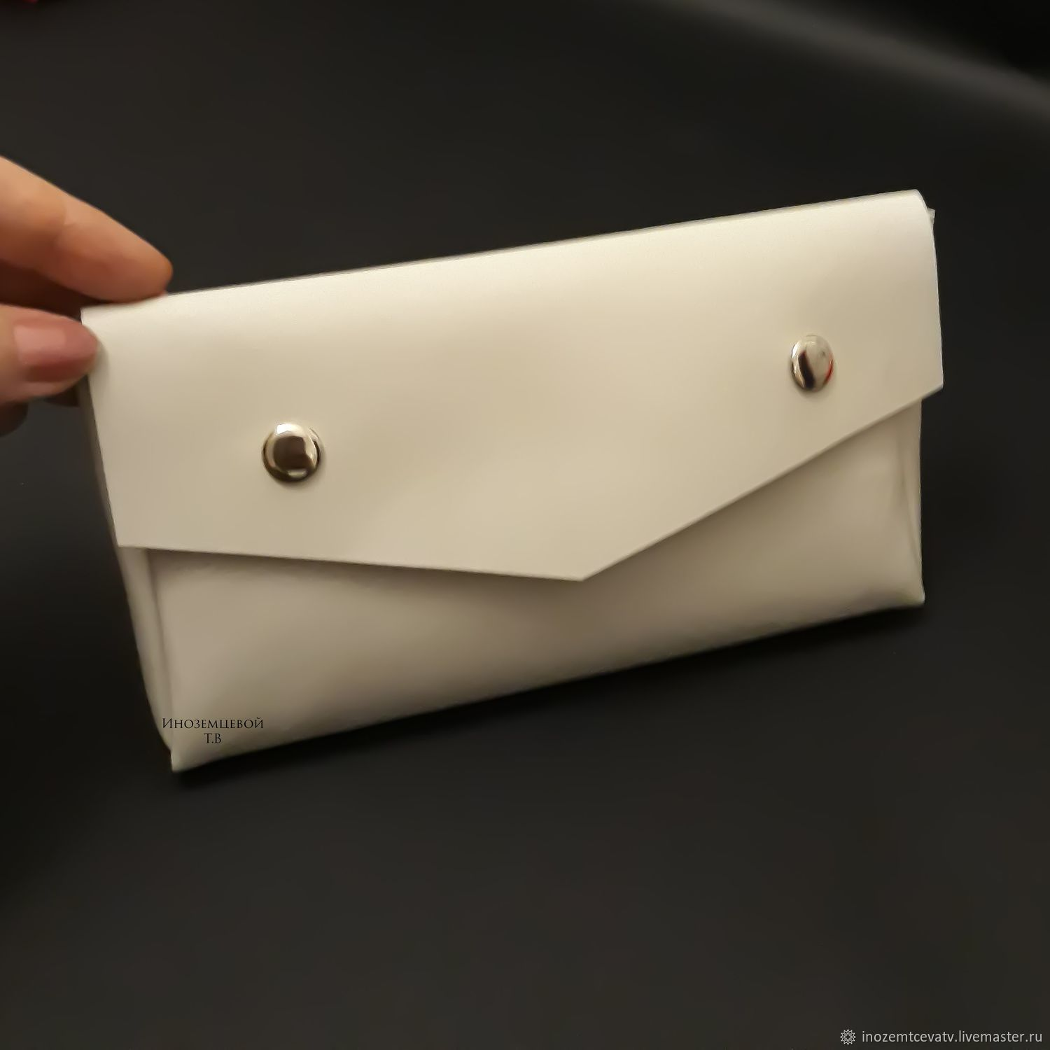 The wallet is made of faux leather, Wallets, Moscow,  Фото №1