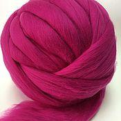 Материалы для творчества handmade. Livemaster - original item Australian Merino Pink.Germany.19 MD. wool for felting. Handmade.