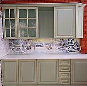 handmade. Livemaster - original item Panels: Apron for kitchen